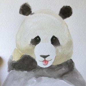 aguarela-a4-panda-tutu-illustration