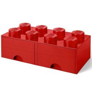 Caixa-lego-8pins-gaveta-vermelha