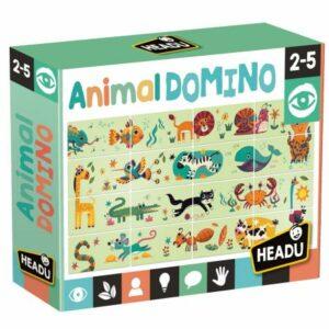 headu-animal domino
