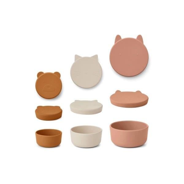pack-3-snack-box-rosa-silicone-liewood