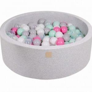 piscina-bolas-cinza-200-bolas-meowbaby-MEO030