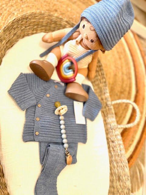 Conjunto trico azul - Martin Aranda