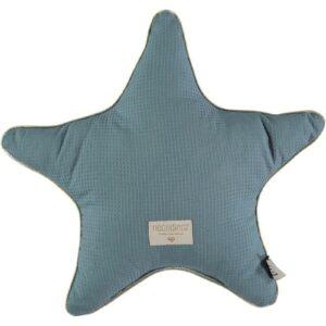 aristote-star-cushion-almofada-estrela-verde-magic-green-honeycomb-nobodinoz