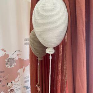 balão-bege-