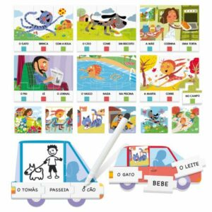 puzzle-game-as minhas primeiras frases
