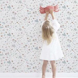 h0604-papel-parede-lilipinso-flores-animais-aquaticos-1