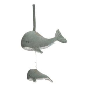 musical - baleia mint - little dutch
