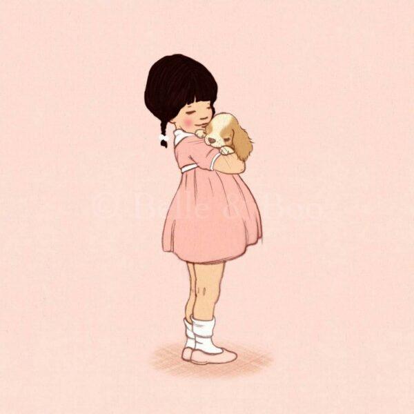 belle-and-boo-abraço-cão