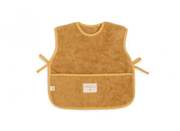 so-cute-baby-apron-caramel-nobodinoz-babete